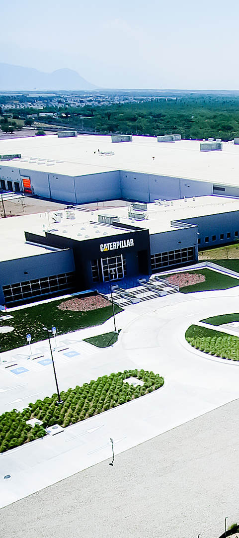 Caterpillar valve & gear pumps manufacturing facility in Mexico Case Study
