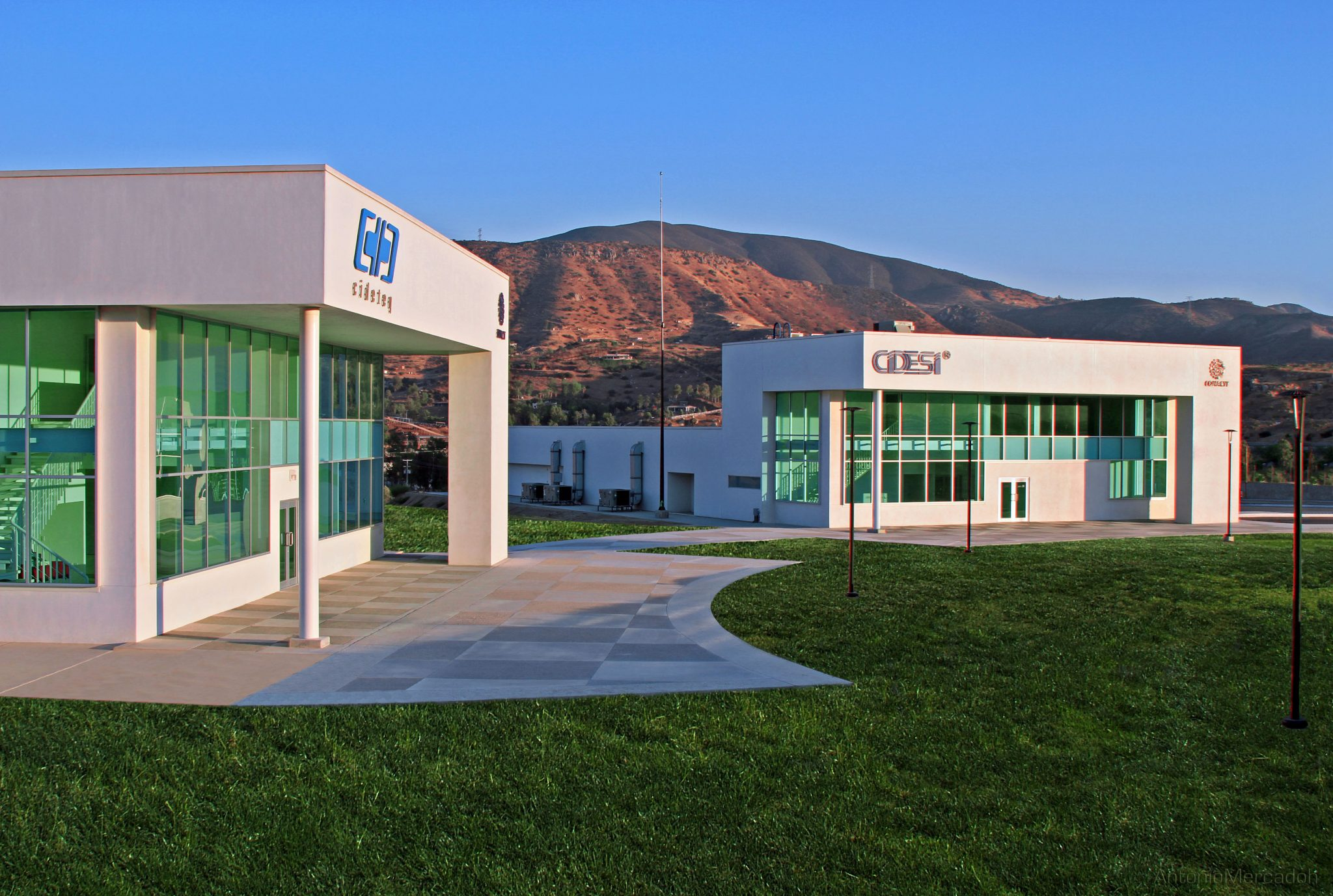 CIDESI Engineering & Research Center buildings in Tijuana, Baja California.