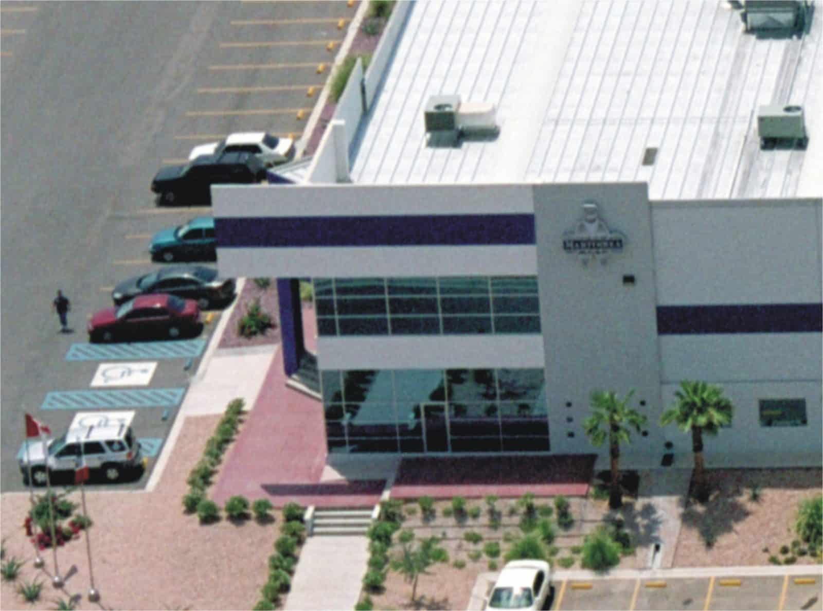 Aerial shot of Martin Rea facility in Hermosillo, Sonora.