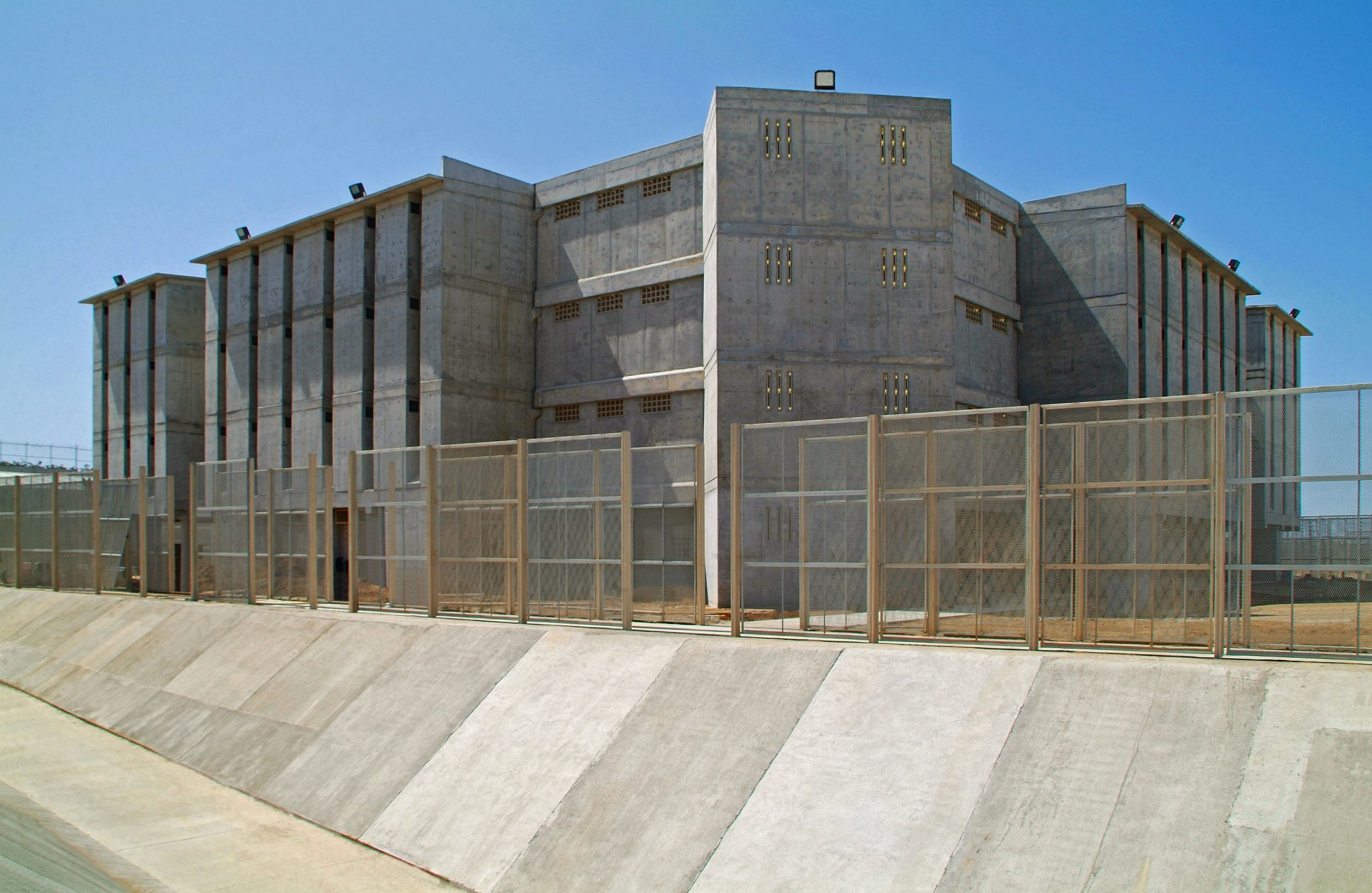 State penitentiary Cereso facility in Mexicali, Baja California.
