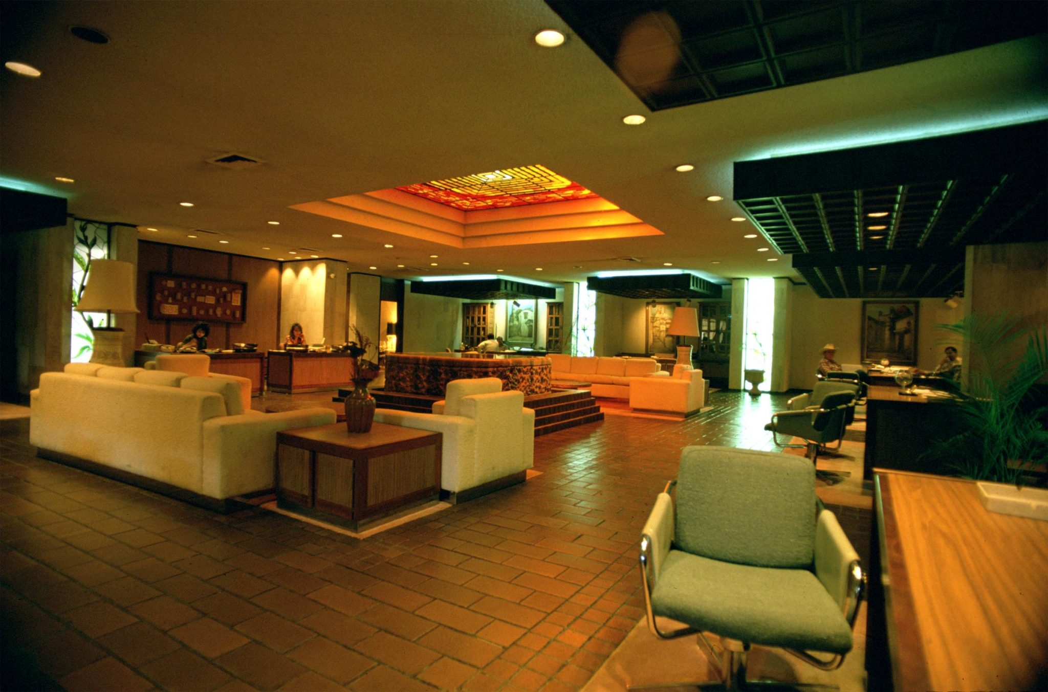 Interior of UNIBANCO building located in Chihuahua