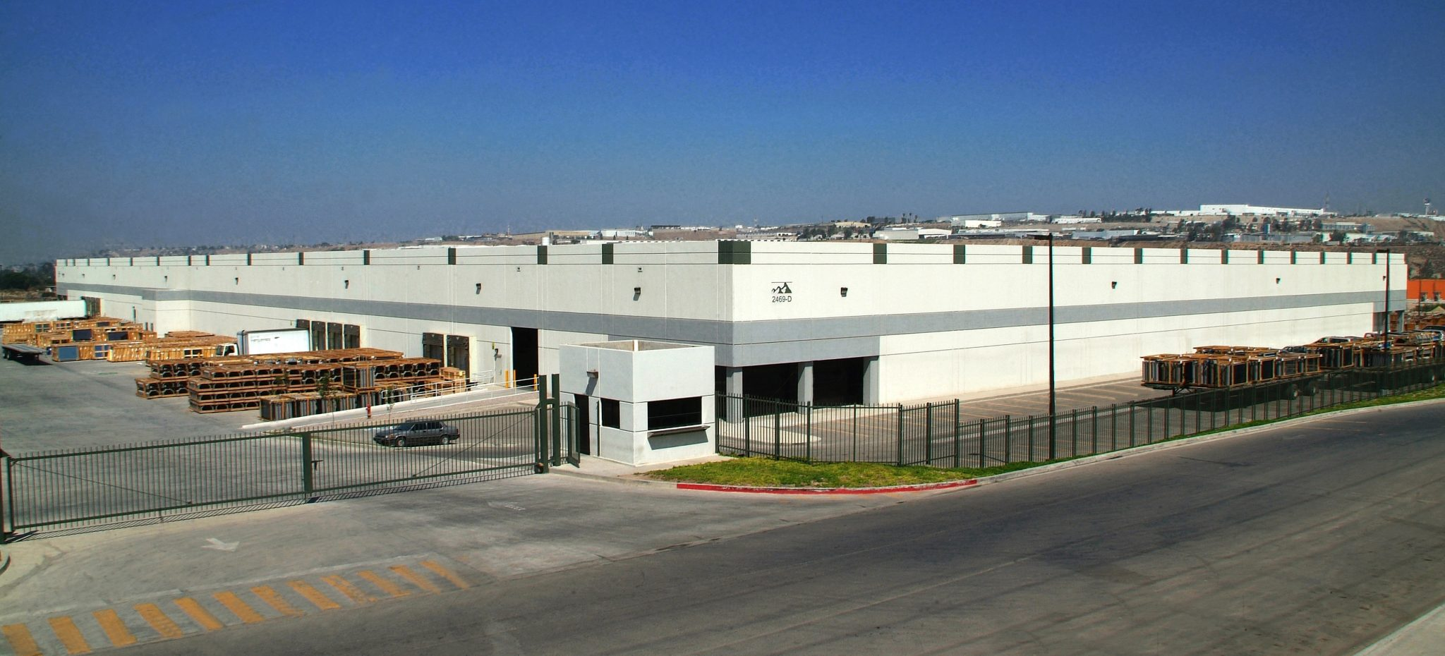 Panoramic shot of Verde - Realty industrial facility in Tijuana, Baja California.