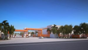Controled Access of Condesa Industrial Park in Mexicali