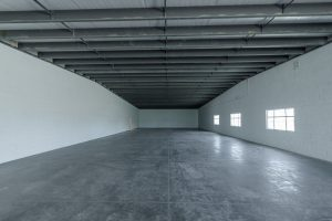 Empty big room at Spec building in Mexicali