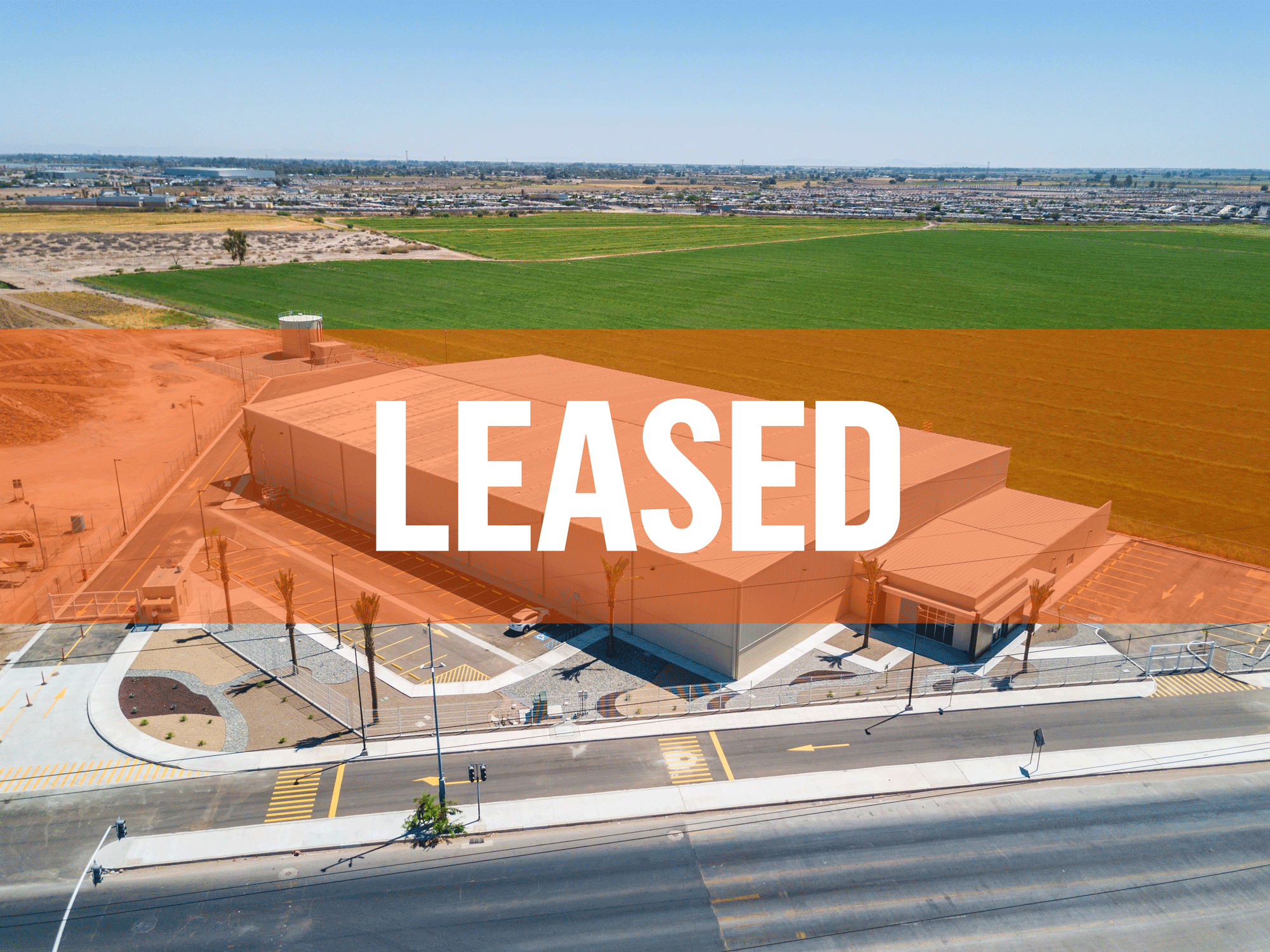 Leased Spec building located in the city of Mexicali Baja California