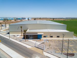 Panoramic view of Spec building in Mexicali Baja California