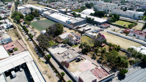Aerial view of land for sale in Leon, Guanajuato