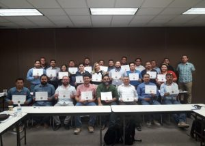 Lean certified students by Hermosillo and Cetys Universidad in January 2019
