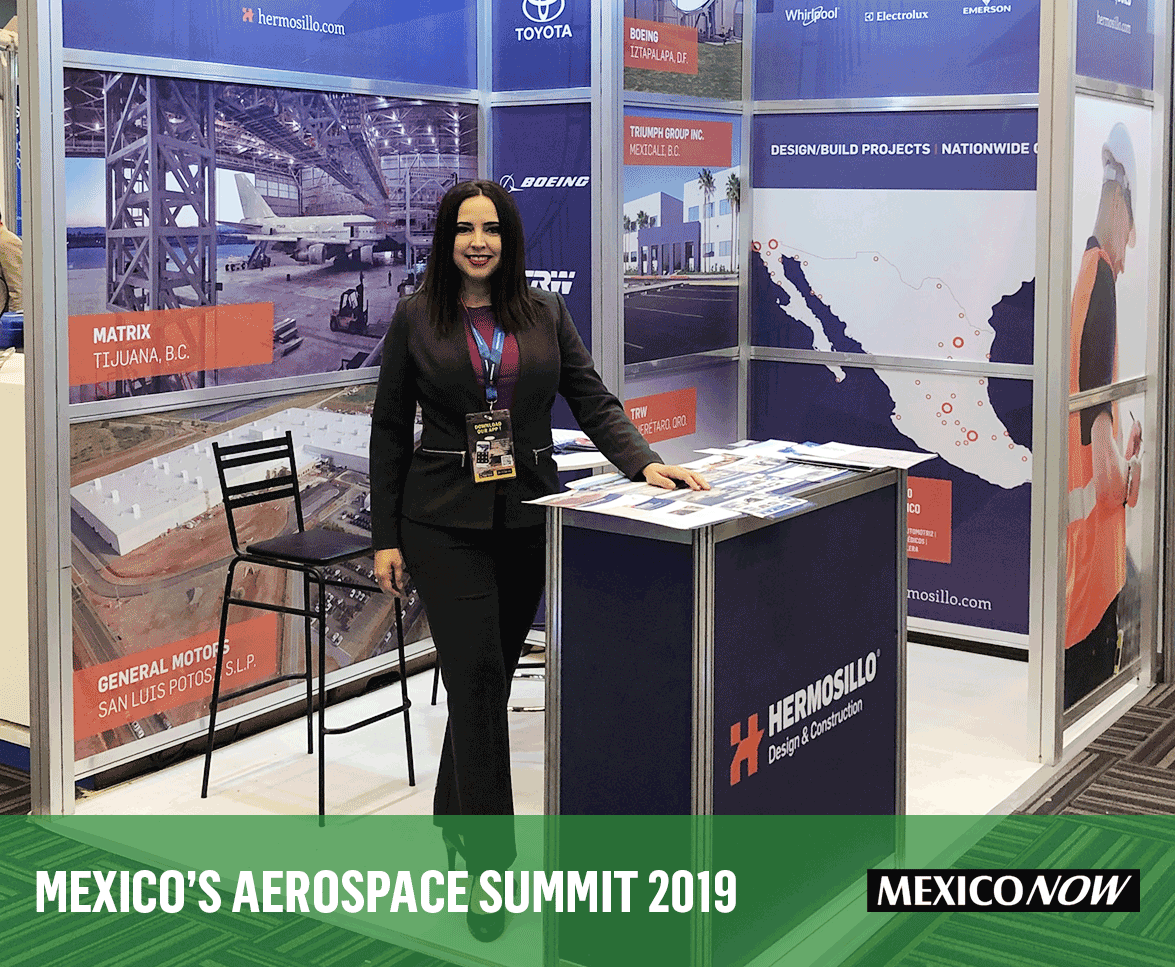 Hermosillo team at the Aerospace summit 2019 at Queretaro