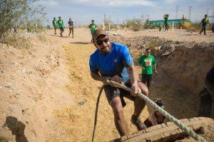 Hermosillo Runner climbing wall Prohibido Rendirse Race