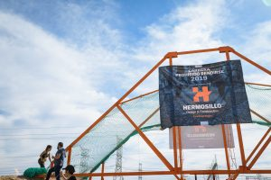 Hermosillo donated obstacle at Prohibido Rendirse race