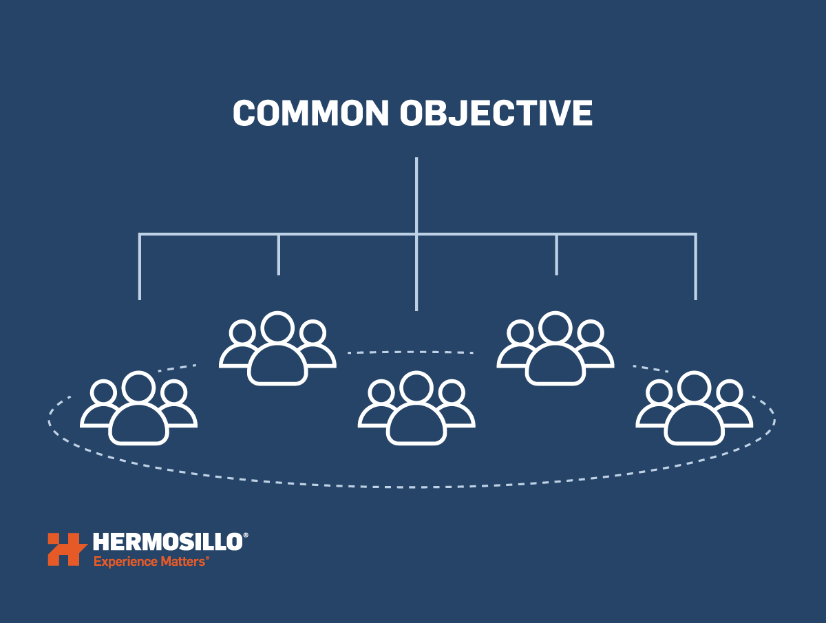 Explaining BIM common objective between teams