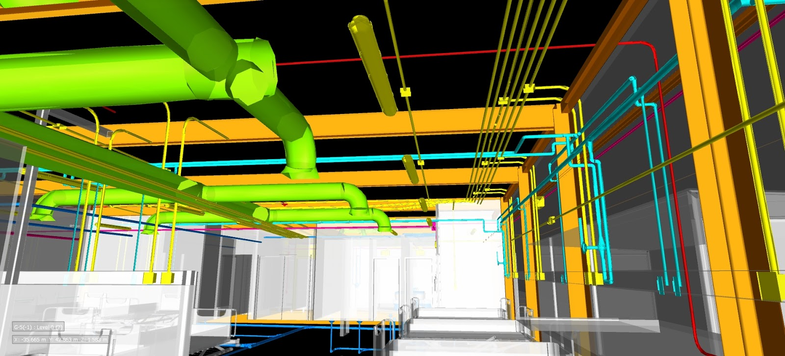 BIM Collaboration, system integration for clash detection